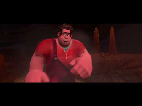 Wreck-It Ralph 'Shut up and drive' full scene HD