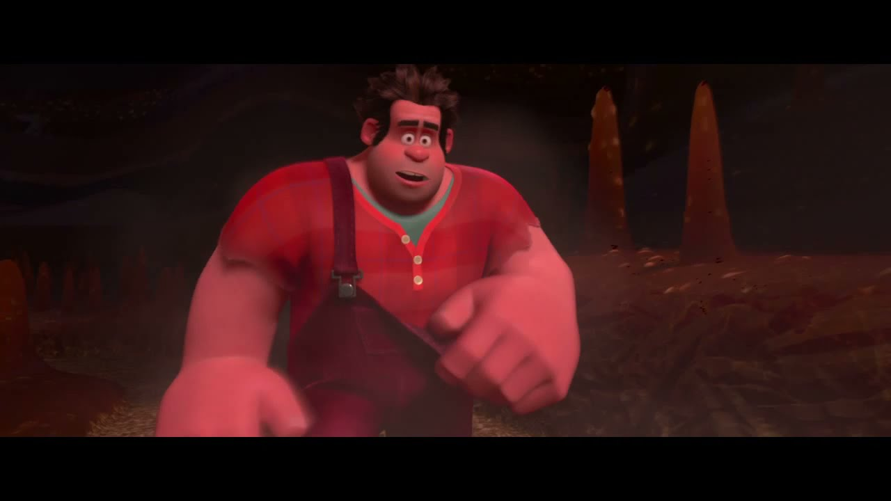 Wreck-It Ralph 'Shut up and drive' full scene HD - YouTube