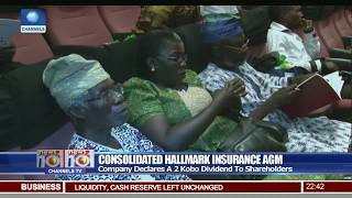 Consolidated Hallmark Insurance Declares Two-Kobo Dividend To Shareholders