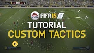 FIFA 15 Tutorial - Custom Tactics