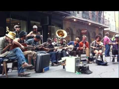"""Minglewood Blues"" LIVE @ Royal Street, New Orleans, LA"