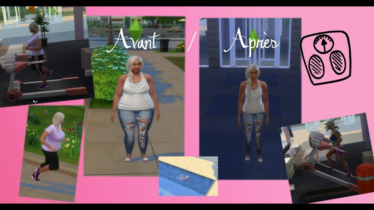 Sims 4 perdre du poids