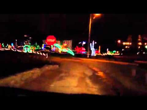 2011 Holiday Lights ~Michigan City, IN - 2011 Holiday Lights ~Michigan City, IN - YouTube