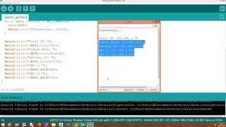ESP32: Static IP address