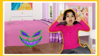Monster under the bed story for kids/монстр под кроватью