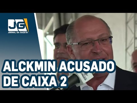 Alckmin acusado de caixa 2 de R$ 7,8 milhões