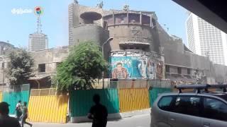 بدء اعمال الهدم في سينما علي بابا
