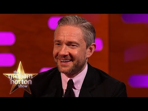 Martin Freeman Was a Tolkien White Guy in Black Panther  The Graham Norton