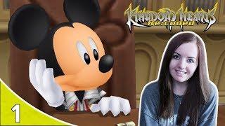 THANK NAMINE | Kingdom Hearts Re Coded Cutscenes Reaction Part 1