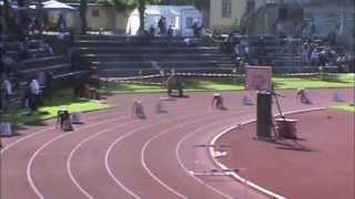 Pfingstmeeting München - 400m  hurdles men - heat 1 - Robert Elß 54,00 sec