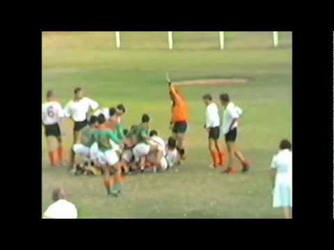 1985 Rugby 1ste span Rustenburg Hoërskool vs Hentie Cilliers toerspan