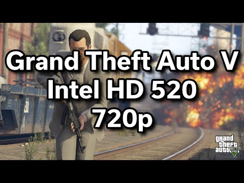 "GTA V - Game Performance - $450 15.6"" HP Laptop - i5-6200U - 8GB RAM - 128GB SSD - 720p"