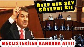 Tevfik Göksu AKP Hakkında Öyle Bir Şey Dedi ki Meclistekiler Kahkahalarını Tutam