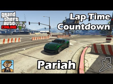 Fastest Sports Cars (Pariah, Raiden & C. Safari) - GTA 5 Best Fully Upgraded Cars Lap Time Countdown
