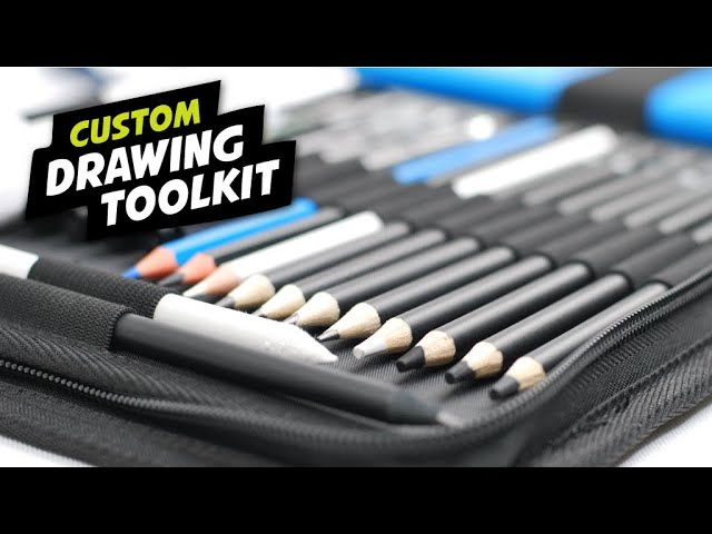 Custom Drawing Set & Toolkit for Artists & Designers