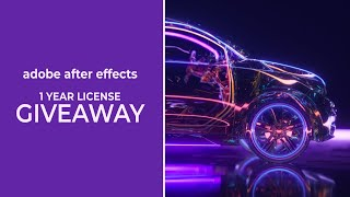 500K Subscribers Special - Adobe After Effects License Giveaway - Free Download After Effects