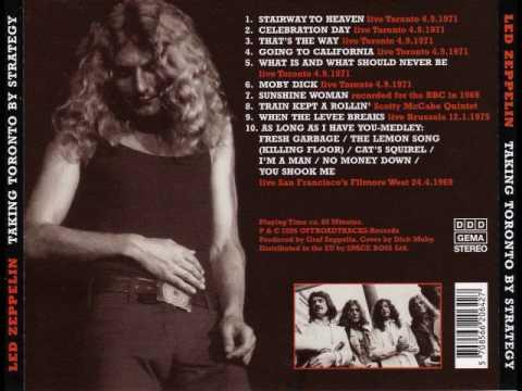 Led Zeppelin - Sunshine Woman - Toronto 24-4-1969