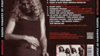 Led Zeppelin - Sunshine Woman - Toronto 24-4-1969