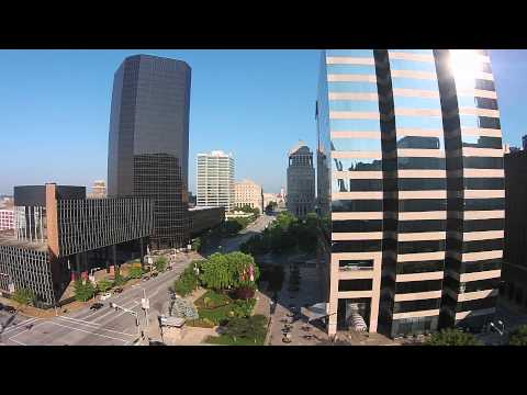 St. Louis Arch Keiner PLaza Arial Tour