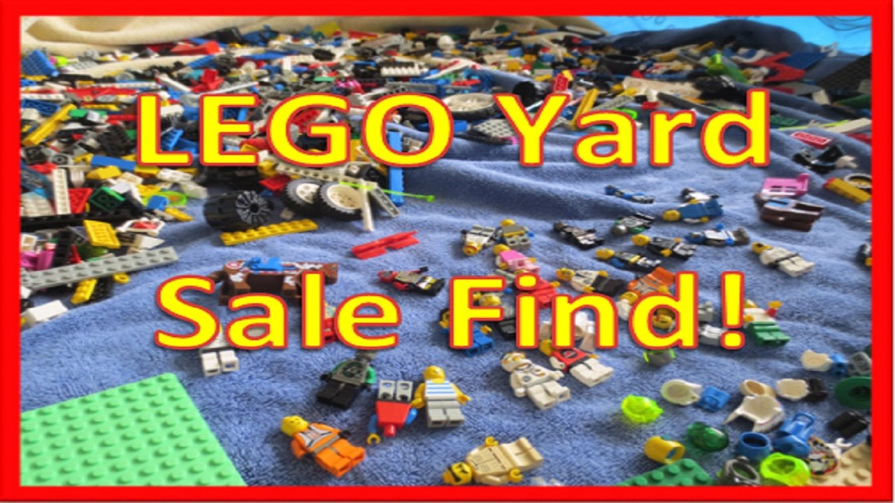 Sale On Legos Lego Yard Sale Finds Over 400 Worth Youtube