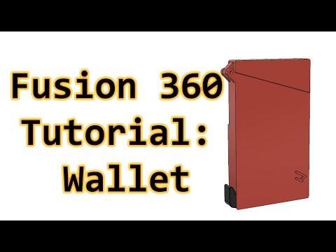 In Depth Fusion 360 Tutorial: Designing my Wallet! : 3Dprinting