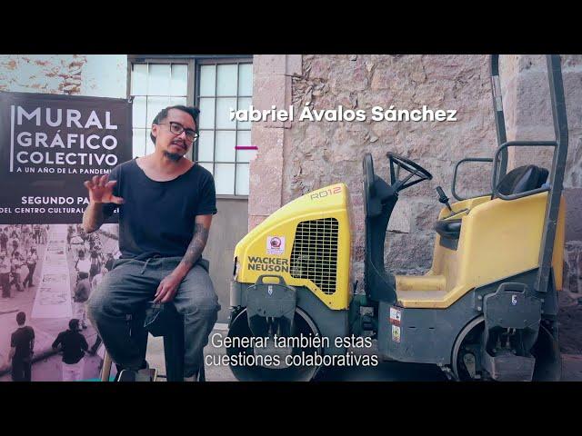 Mural Gráfico Colectivo - Gobierno de Michoacán