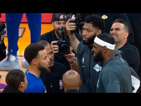 Lakers Vs Warriors Warm Up Before The Game | October 5, 2019 NBA Preseason