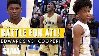 Sharife Cooper vs. Anthony Edwards BATTLE for Atlanta! 😈 | SLAM Highlights