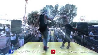 DANIEL Y DESIREE - Romeo Santos - Imitadora