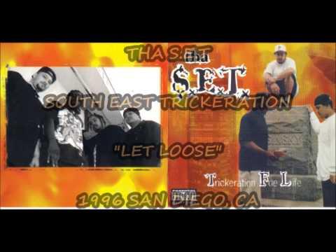 THA S.E.T - LET LOOSE 1996 SOUTHEAST SAN DIEGO G-FUNK RAP classik dope
