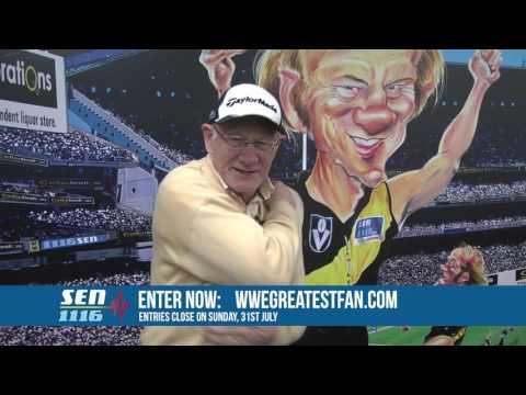 WWE Greatest Fan - A special message from Kevin Bartlett