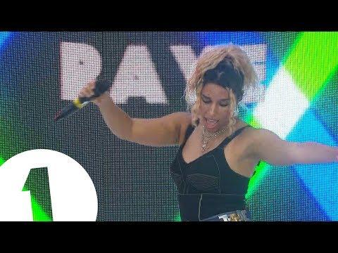 RAYE - Radio 1 in Ibiza 2018 - Ibiza Rocks | SOME STRONG LANGUAGE