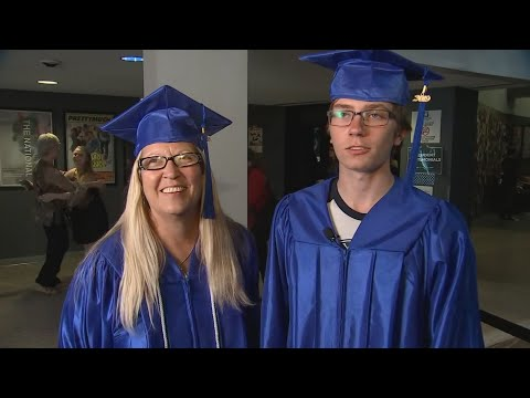 Mother, Son Graduate At Same Time From Rio Salado