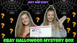 Opening A Halloween Mystery Box From eBay ~ Jacy and Kacy