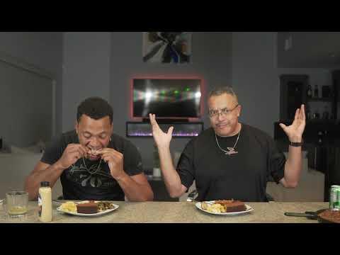 🚨 Thanksgiving Mukbang w/ a very Special guest My Pops! (Brett Sr) 🚨