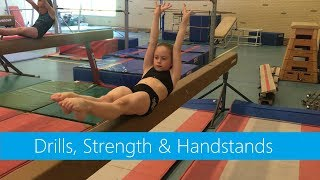 Beam » Drills, Strength & Handstands