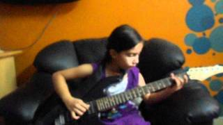 Neele neele ambar par chand jab aaye instrumental guitar Aditi