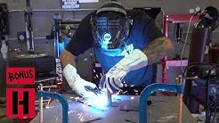 Deaf Fabricator Teaches How To MIG Weld By Feel & Smell