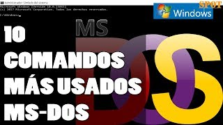 Los 10 comandos de MS-DOS más usados que debes saber