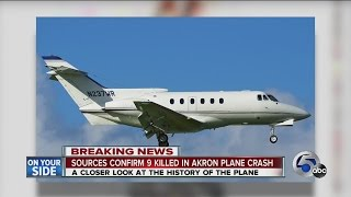 Florida based charter company operated business jet that crashed into Akron-area home