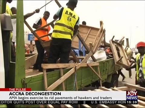 Accra Decongestion - The Pulse on JoyNews (8-1-18)