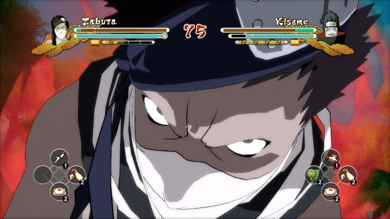 XBOX 360 Zabuza Vs Kisame Naruto Ultimate Ninja Storm 3
