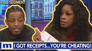 This Receipt Has Cheating Written All Over It! | The Maury Show