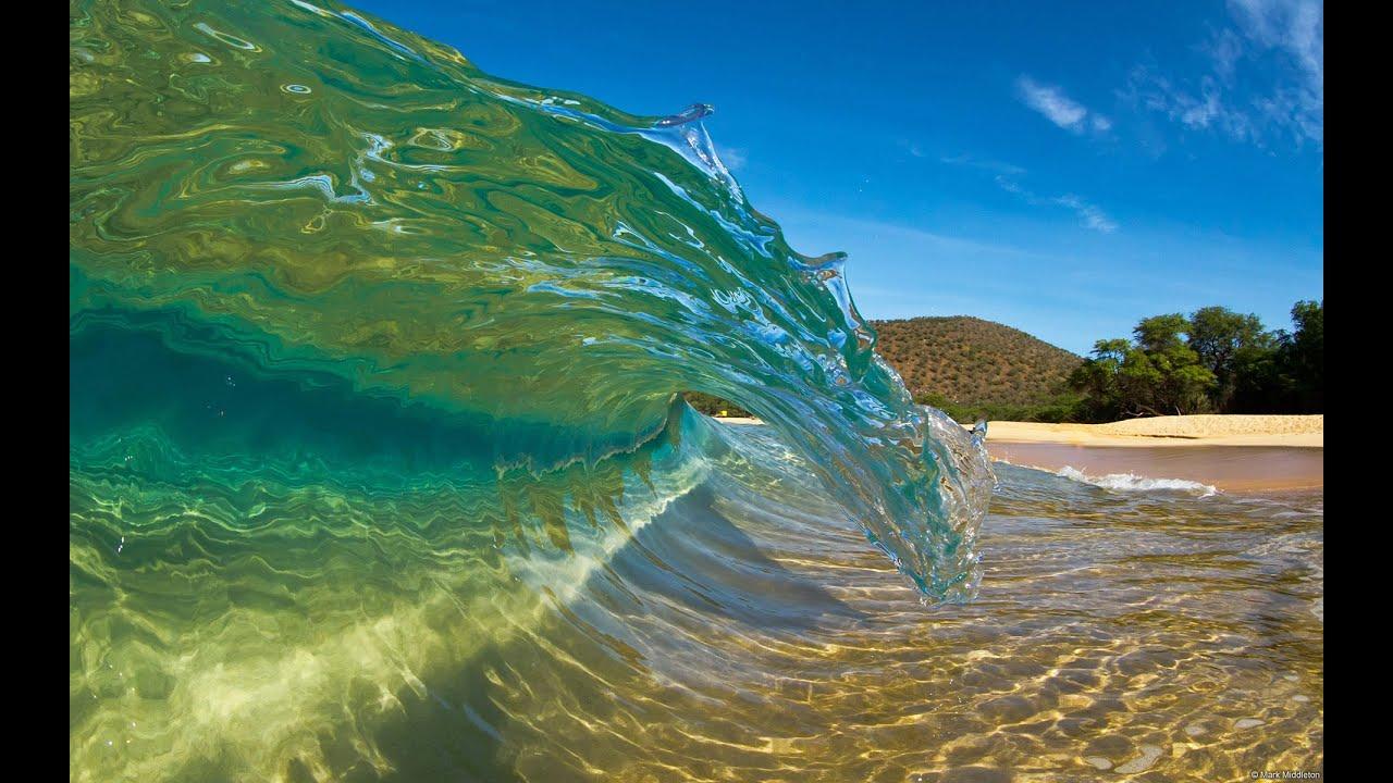 Как образуются гавайские волны для сёрфинга