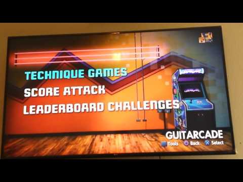 Rocksmith game play  