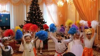 """Танцы под """"Песенка о лете"""" Детский утренник"""