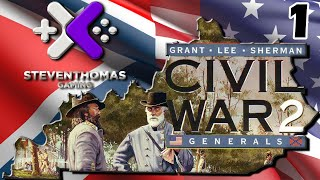 SKS Plays Civil War Generals 2 Gameplay:  WAR!  [Episode 1]