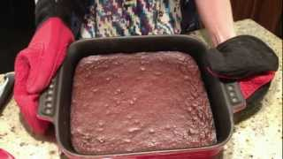 Yummy Zucchini Brownies {gluten-free} Notdeprived_becca's Kitchen