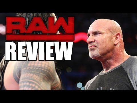 Raw Ruins Goldberg! Hulk Hogan Fan Removed From WWE Raw Shot! | WWE Raw, Jan. 2, 2017 Review