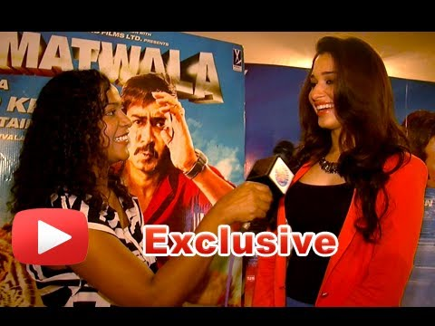 Exclusive Interview With Tamannaah For Himmatwala Film